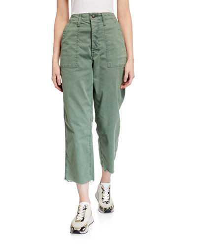 The Patch Pocket Private Ankle Fray Pants