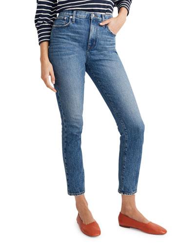 High-Rise Slim Boy Jeans
