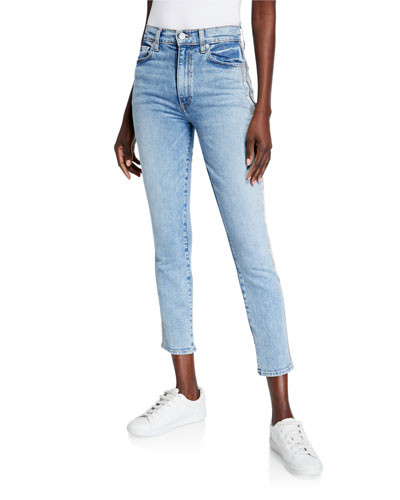 Good High-Rise Cropped Ankle Skinny Jeans