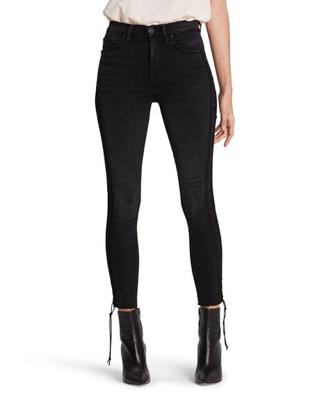 Hudson Barbara High-Rise Crop Skinny Jeans