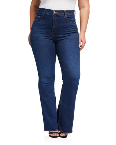 Plus Size Beverly High-Rise Skinny Flare Jeans - Extended Sizes