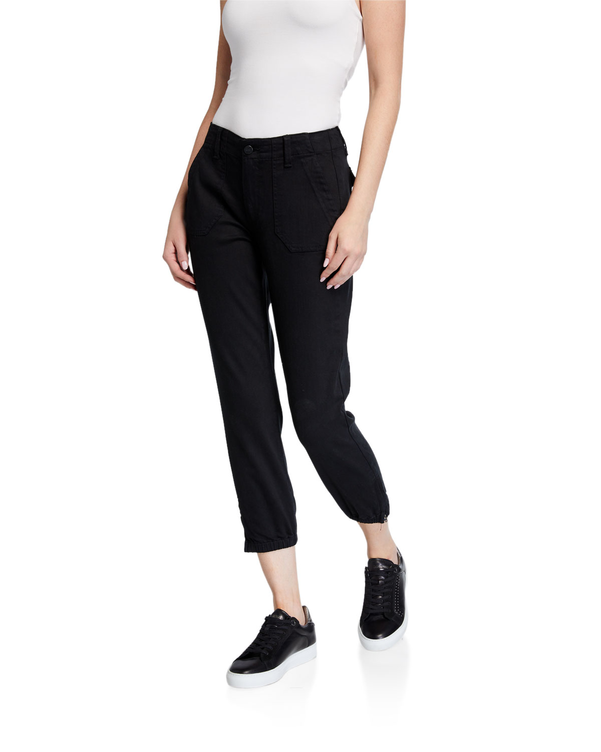 Paige Pants MAYSLIE CROPPED JOGGER PANTS