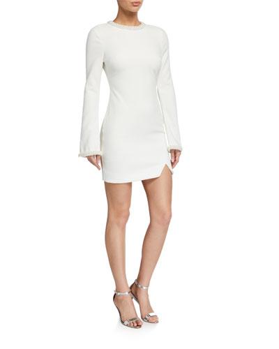 Mabel Long-Sleeve Cocktail Dress