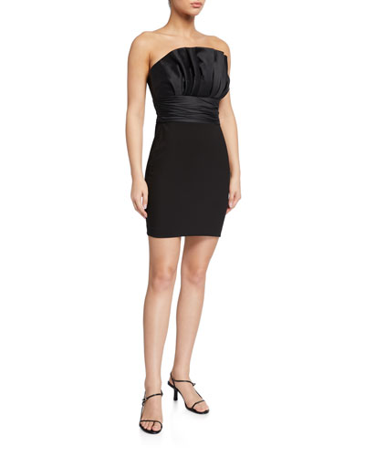 Lally Strapless Cocktail Dress