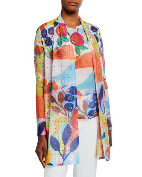 Berek My Colorful Painting Long Cardigan