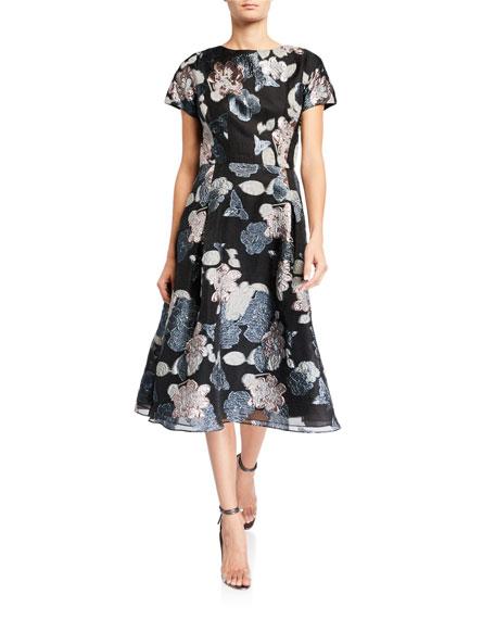 Rhode Frida Metallic Gauze Maxi Dress Neiman Marcus