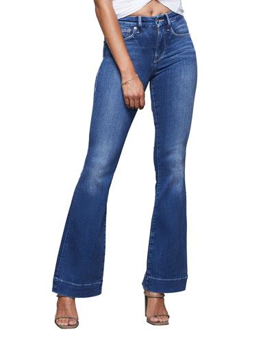 Good Flare Jeans with Trouser Hem - Inclusive Sizing
