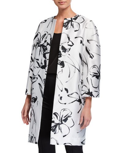 Classic Floating Floral Jacket