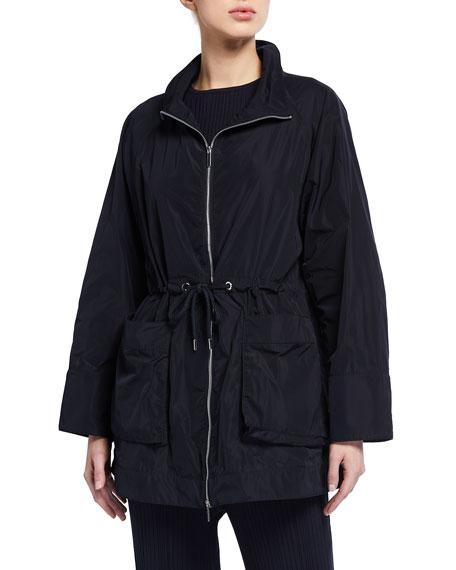 Max Mara Leisure Ultra Lite Drawstring Waist Raincoat