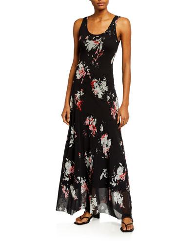 Trina Turk Womens Secret Ditsy Floral Chevron Dress