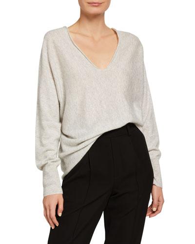 Vince Linen Sweater Neiman Marcus