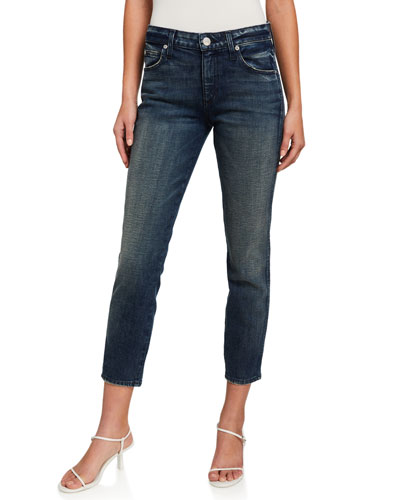 Stix Crop Mid-Rise Ankle Skinny Jeans
