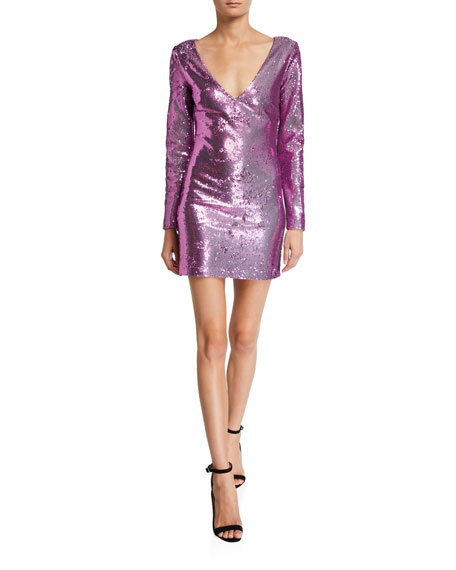 Likely Beverly Long-Sleeve Cocktail Dress
