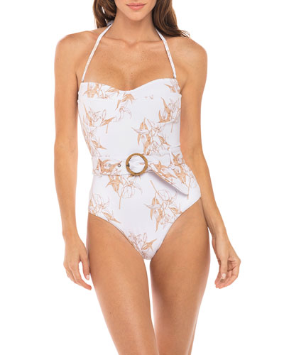 Kate Underwire Bandeau One-Piece Swimsuit
