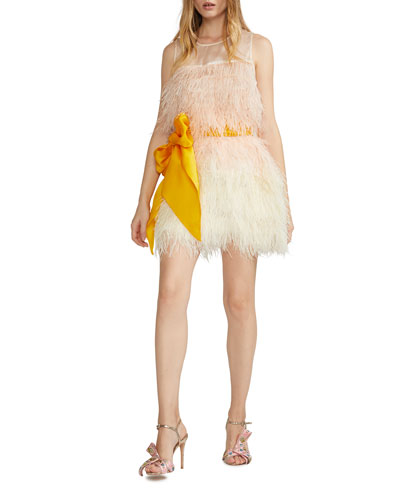 Kitty Feather Party Dress