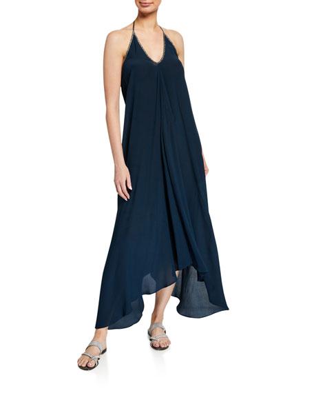 Hansine Rhodes Halter Coverup Dress