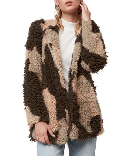 Petra Shaggy Faux-Fur Jacket