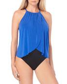 Magicsuit Aubrey Solid One-Piece Swimsuit
