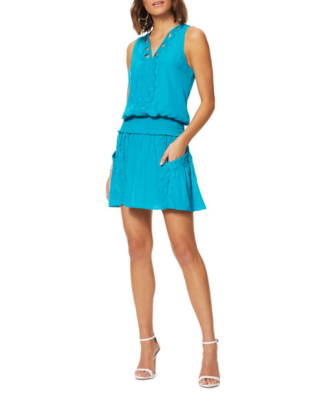 Ramy Brook Madeline Embroidered Dress