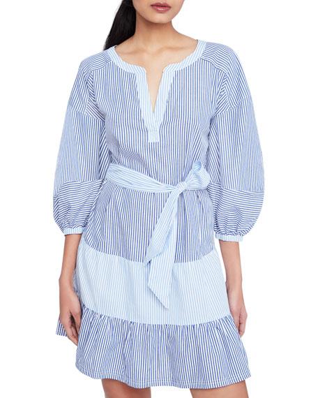 Parker Jenna Striped Combo Dress