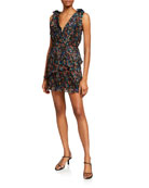 La Maison Talulah Burning Desire Mini Dress