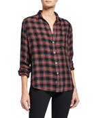 Frank & Eileen Eileen Button-Down Plaid Modal Shirt