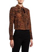 Lafayette 148 New York Plus Size Diana Leopard