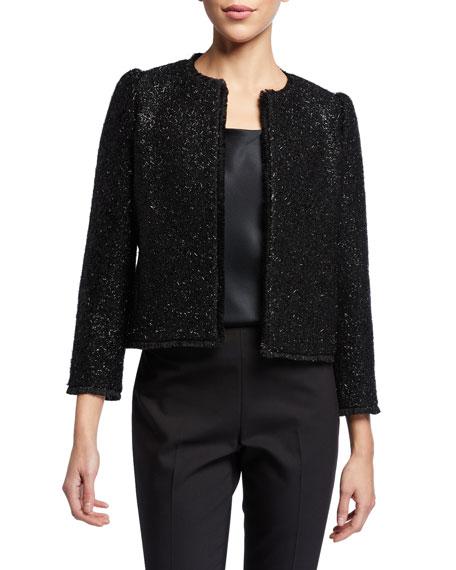 kate spade new york tinsel tweed jacket