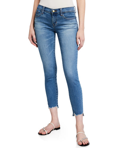 93226 Low-Rise Cropped Skinny Jeans