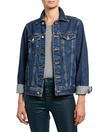 Mya Denim Trucker Jacket