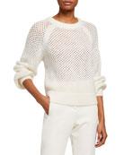 Joie Yayi Netted Sweater