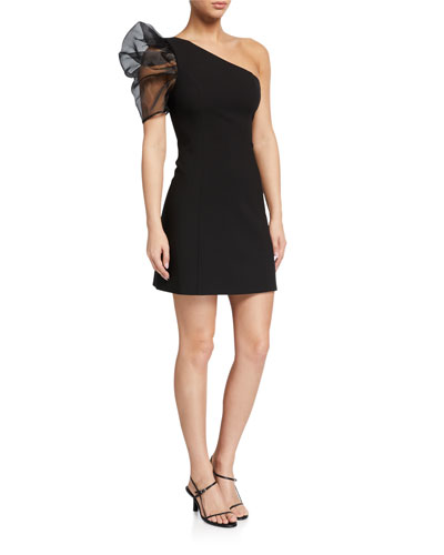 Nelia One-Shoulder Cocktail Dress