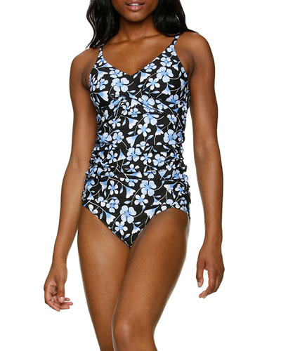 Floating Underwire Tankini Top