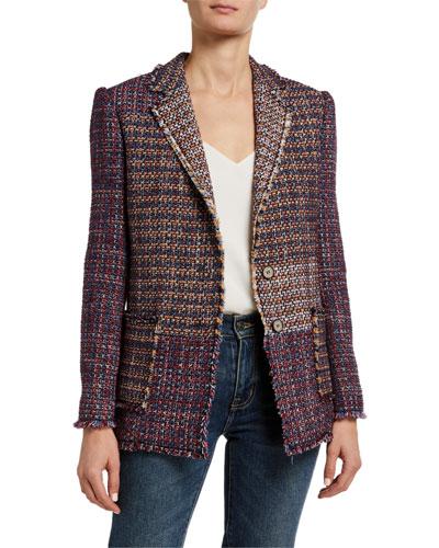 Blanket Tweed Blazer