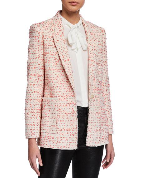 Rebecca Taylor Beckie Tweed Jacket