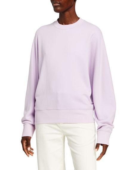 Vince Crewneck Dolman-Sleeve Sweatshirt