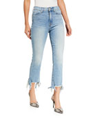 7 for all mankind High-Waist Slim Kick Flare