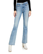 7 for all mankind Modern 'A' Pocket Flare-Leg