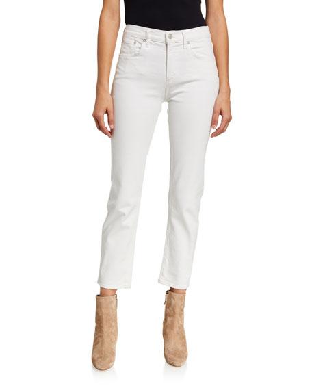 AGOLDE Toni Radiate Mid-Rise Slim Straight Jeans