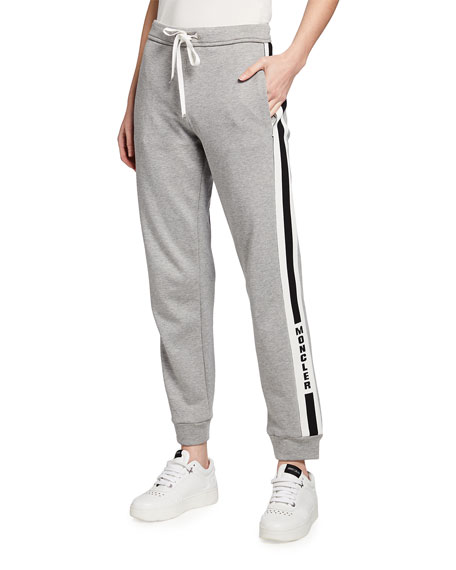 Moncler Logo Stripe Sweatpants