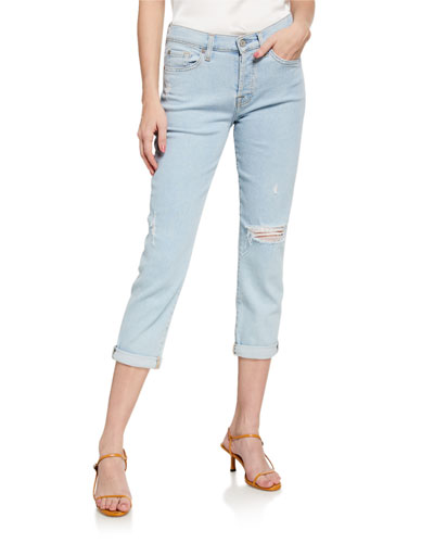 Josefina Cropped Mid-Rise Jeans