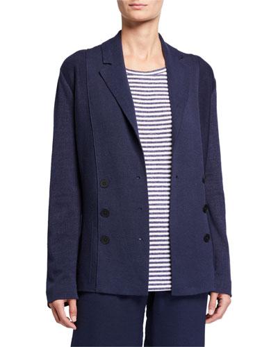 Plus Size Frame Of Mind Knit Easy Jacket
