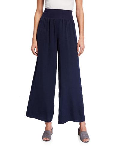 Plus Size Go With The Flow Wide Leg Pants