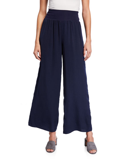 NIC+ZOE Plus Size Go With The Flow Wide Leg Pants