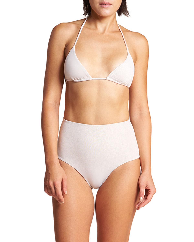 Ischia Triangle Bikini Swim Top