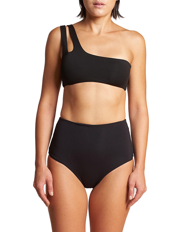 Barbados UPF 50+ One-Shoulder Bikini Top