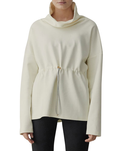 Barton Sweat Funnel Neck Pullover Sweatshirt