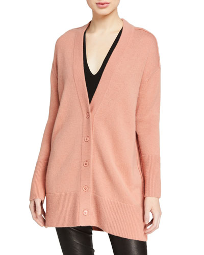 Louie V-Neck Oversized Cardigan