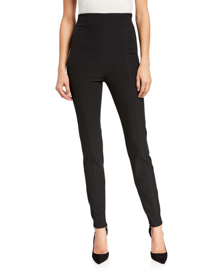 A.L.C. Silvio High-Rise Skinny Pants w/ Zippers