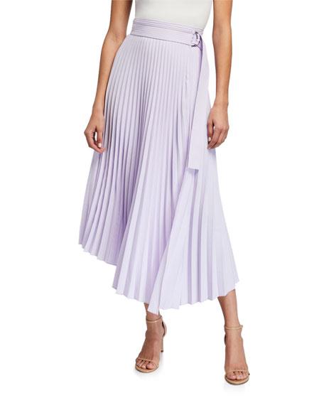 A.L.C. Arielle Pleated Midi Skirt
